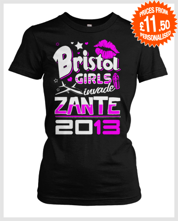 girlie holiday mash up tshirts