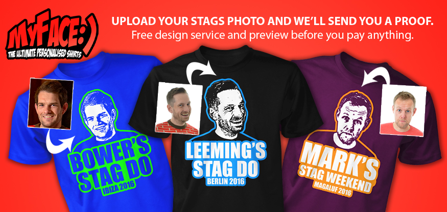 stag t-shirts for 2015